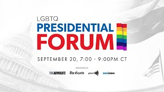 YouTube動画:The LGBTQ Presidential Forum