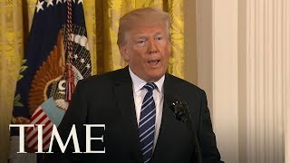 President Trump's Remarks On The Texas School Shooting | TIME