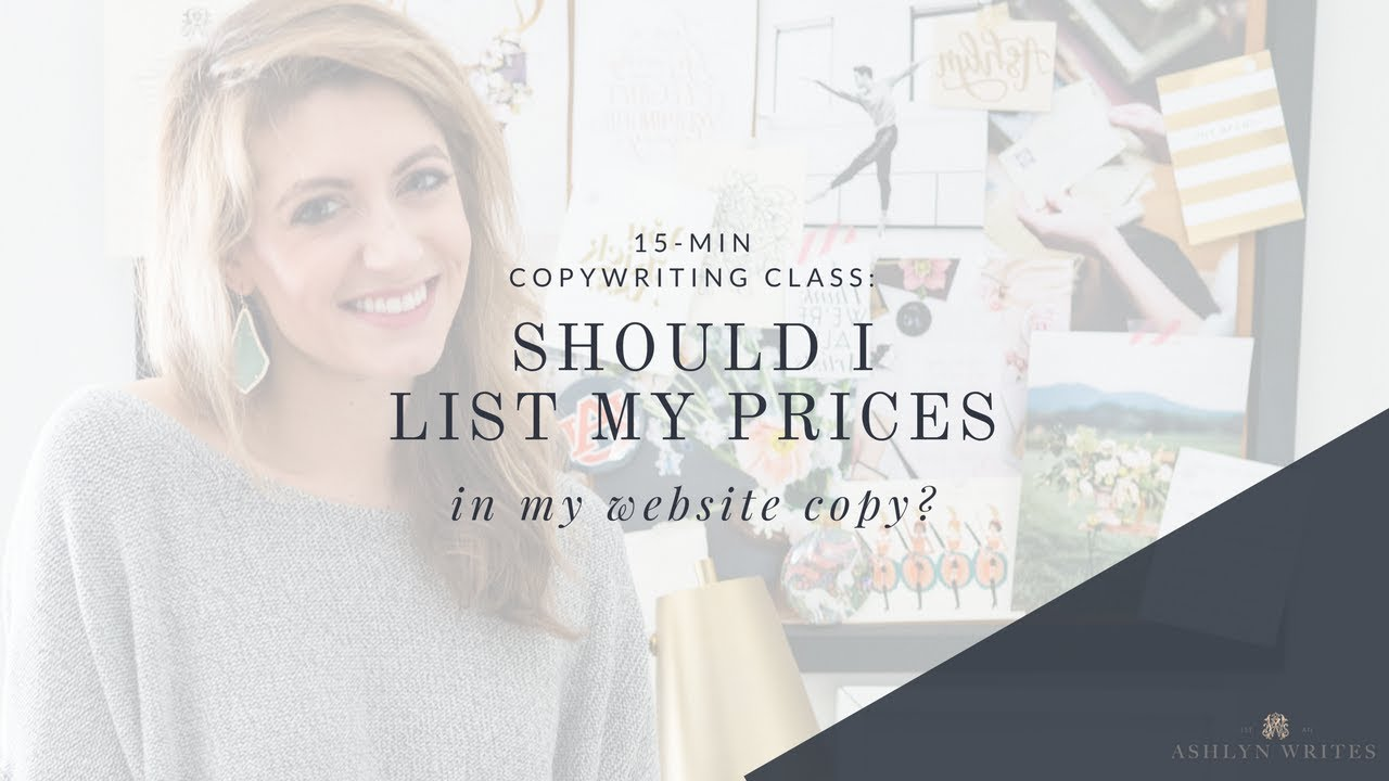 Copywriting services price list The Great Persuader