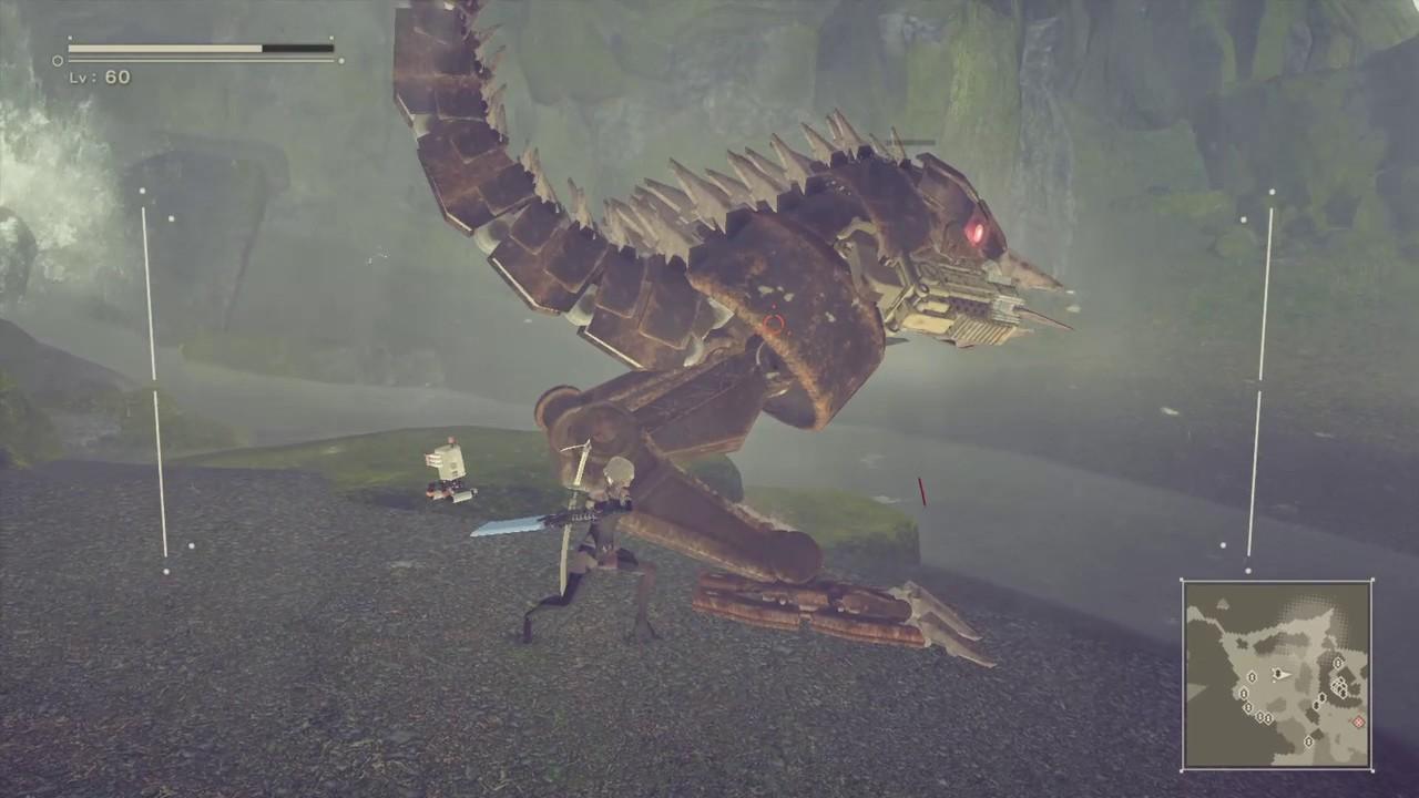 型 ニーア オートマタ 怪獣