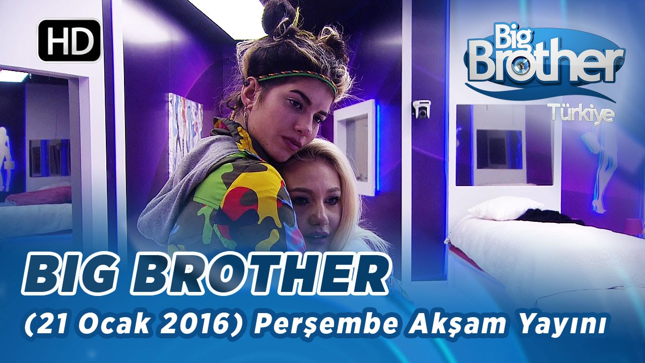 Big Brother Trkiye 21 Ocak 2016 Perembe Akam Yayn -3587