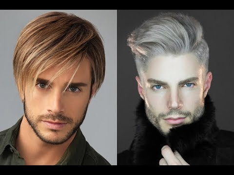Men\'s Hair Highlights 2018 - Trendy Hair Color - YouTube