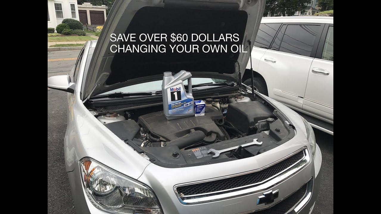 Diy Chevy Malibu 2017 2 4l Oil Change