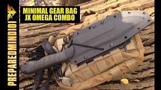 Minimal Gear Bag / JX Omega Combo - Preparedmind101