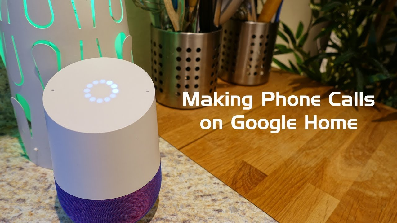 How to Make Free Phone Calls on Google Home!