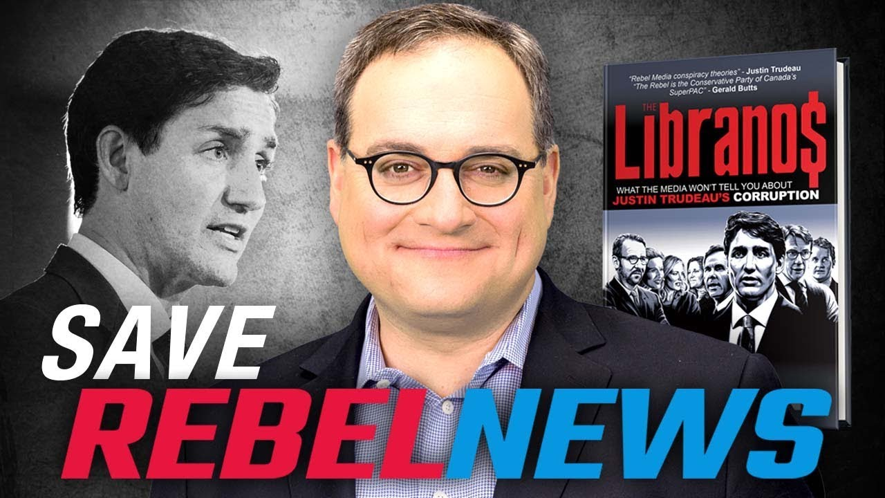 SAVE THE REBEL: Trudeau's lawyers are investigating me for writing a book about him! | Ezra Lev