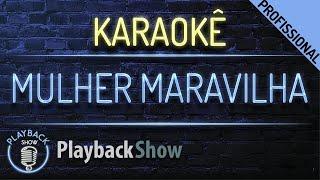 Baixar Mulher Maravilha - Karaoke Instrumental Playback - Zé Neto e Cristiano