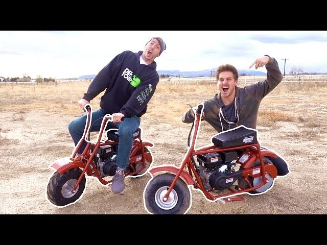 WE BOUGHT TOY BIKES!