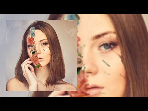 Simple flower face effect in Photoshop cc - Photoshop tutorial - thumbnail