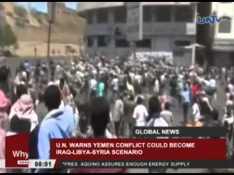 UN warns Yemen conflict could become Iraq-Libya-Syria scenario