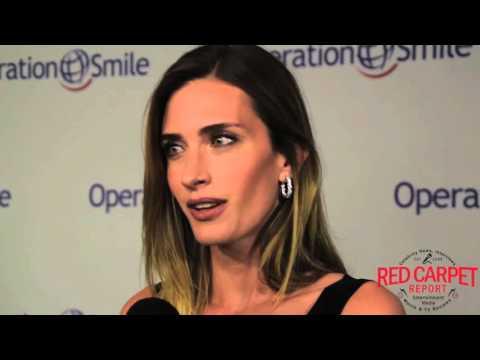 Rhea DurhamWahlberg ed at the Operation Smile Gala OperationSmile SmileGala