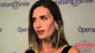 Rhea Durham-Wahlberg Interviewed at the Operation Smile Gala #OperationSmile #SmileGala