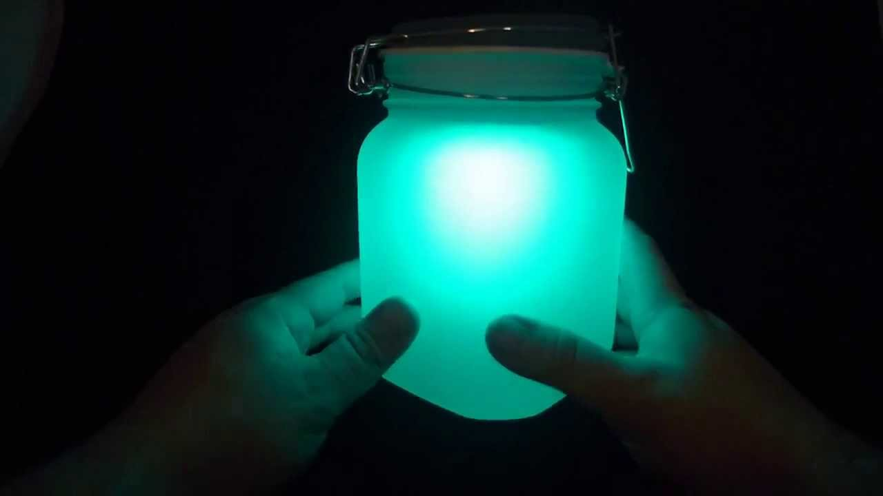 LampLust Sun Jar (Solar Mason Jar) with Multicolor Mode Review