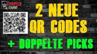 2 NEUE QR CODES 🔥   Doppelte Picks Wochenende   News   WWE SuperCard Deutsch