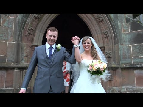 Adam & Hayley HOAR CROSS HALL Wedding