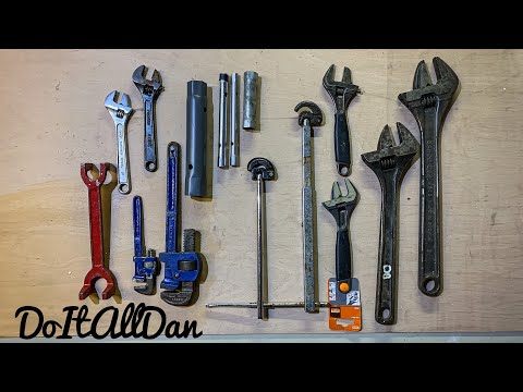 """Todays Tools Adjustable Wrench Spanner 6/"""" 8/"""" or 10/"""" Wide Jaw Plumbers Plumbing"""