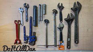 Plumbing Tools My Top 10 Plumbing Spanners