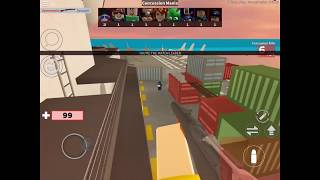 MOBILE ROBLOX ARSENAL GAMEPLAY #10