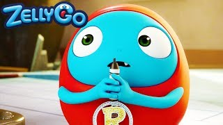 ZellyGo - Working in Vain | HD Full Episodes | Funny Videos For Kids | Videos For Kids
