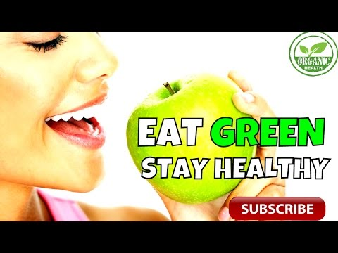 Organic Health: 5 Reasons Why Green Foods are Good!