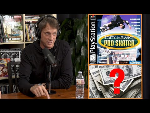 How Much Money Did Tony Hawk Make From Tony Hawk's Pro Skater??