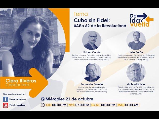 Cuba sin Fidel Año 62 de la Revolución