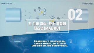 초 미세 금속-탄소 복합체 제조법(MADOC)