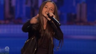 Download Video America's Got Talent 2016 Skylar Katz 11 Year Old Rapper Performs I'm Fresh Audition Clips S11E06 MP3 3GP MP4