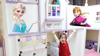 어떻게 하면 방이 이쁠까요?!! 서은이의 방꾸미기 겨울왕국 엘사 뽀로로 스티커 장난감 Frozen Elsa and Pororo Stickers Room