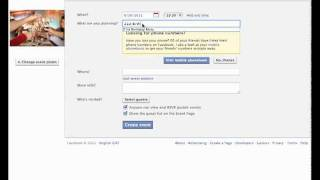 Creating a 21st Birthday Party invitation using facebook events.mp4