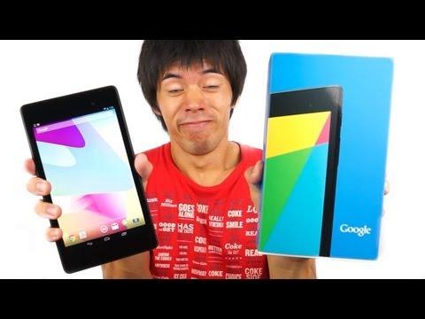 新型Nexus7がキター!細く薄くポケットサイズのタブレット端末 | Nexus7 2013