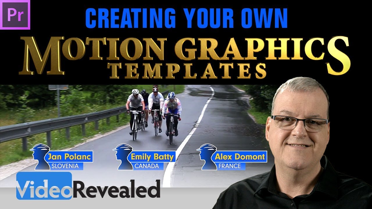 Creating your own Motion Graphics Templates in Adobe Premiere Pro CC – DEEP DIVE!