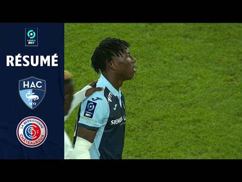 Le Havre Chateauroux Goals And Highlights
