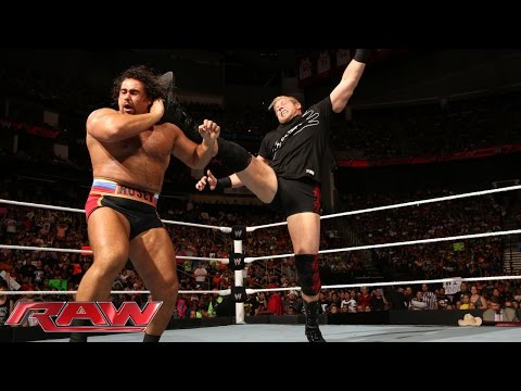 Jack Swagger and Zeb Colter honor the American flag: Raw, July 28, 2014
