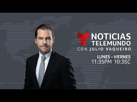 EN VIVO: Noticias Telemundo con Julio Vaqueiro jueves 29 de octubre de 2020