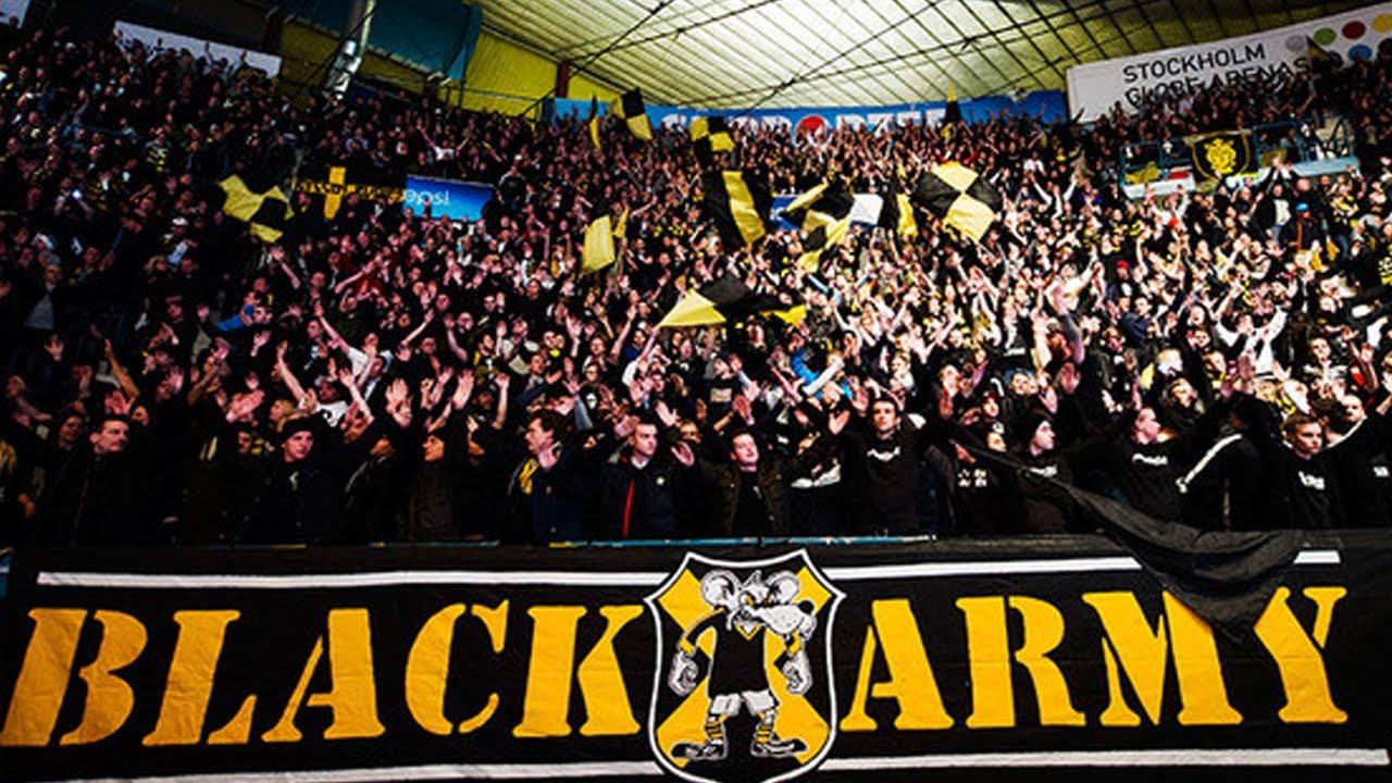 Aik Stockholm Ultras Black Army Sweden Youtube