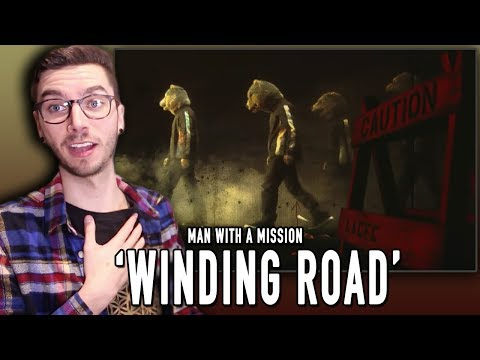 MAN WITH A MISSION - Winding Road REACTION!!