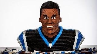 Building LEGO Cam Newton
