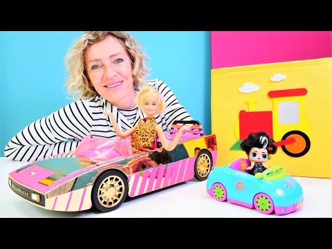 Nicoles Wunderbox - LOL Surprise Auto für Barbie - Spielzeug Video für Kinder