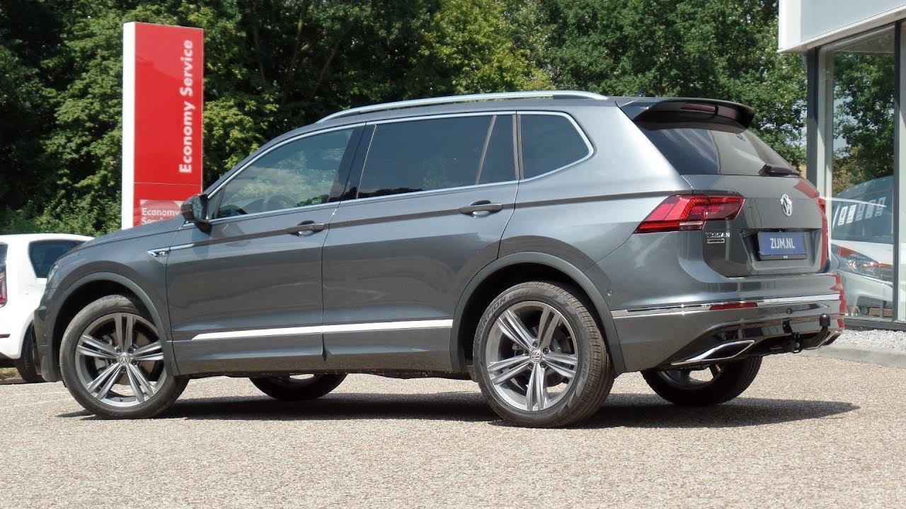 Volkswagen New Tiguan Allspace R Line 2018 Platinum Grey 19 Inch