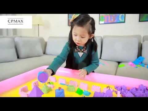 CPMAX 動力沙 太空動力沙 太空沙 黏土沙 魔力沙 兒童玩具 益智玩具 模型套裝 贈收納盒 黏土玩具【TOY38】