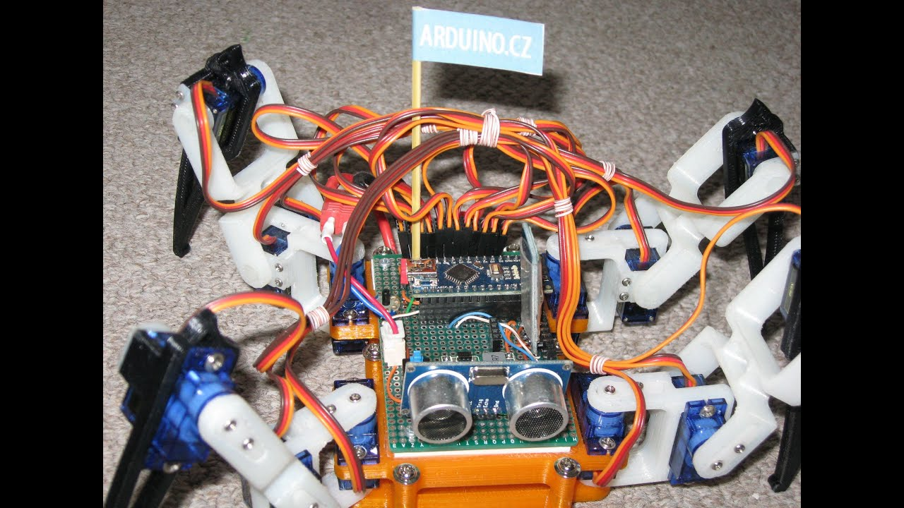 Spider Robot Quad Robot Quadruped