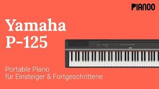 Digitalpiano für Anfänger - Test: Yamaha P-125