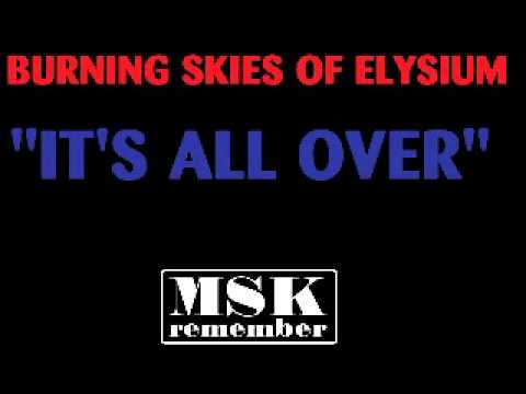 Burning Skies Of Elysium - It`s All Over 1985 Prism Records