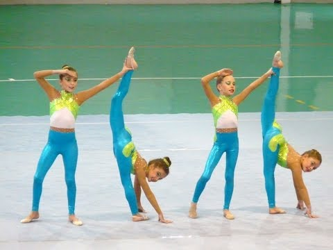 CONJUNTO PREBENJAMIN INTERCLUBS 2013. CLUB GIMNASIA ANGELS.M