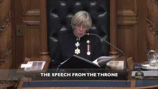 Leverage Our Strengths - 2014 Speech from the Throne