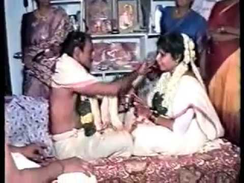 South Indian Traditional Marriage 11 = Entertainment / Preparing New couple