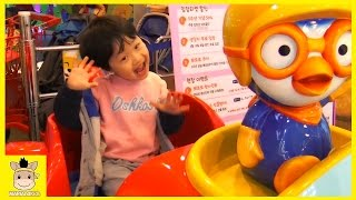 Indoor Playground for Kids and Family Fun at Pororo Kids Cafe | MariAndKids Toys