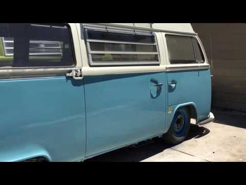 Lowering a VW Bus