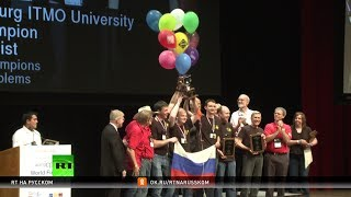 Международную олимпиаду по программированию седьмой раз выиграла команда из Санкт-Петербурга
